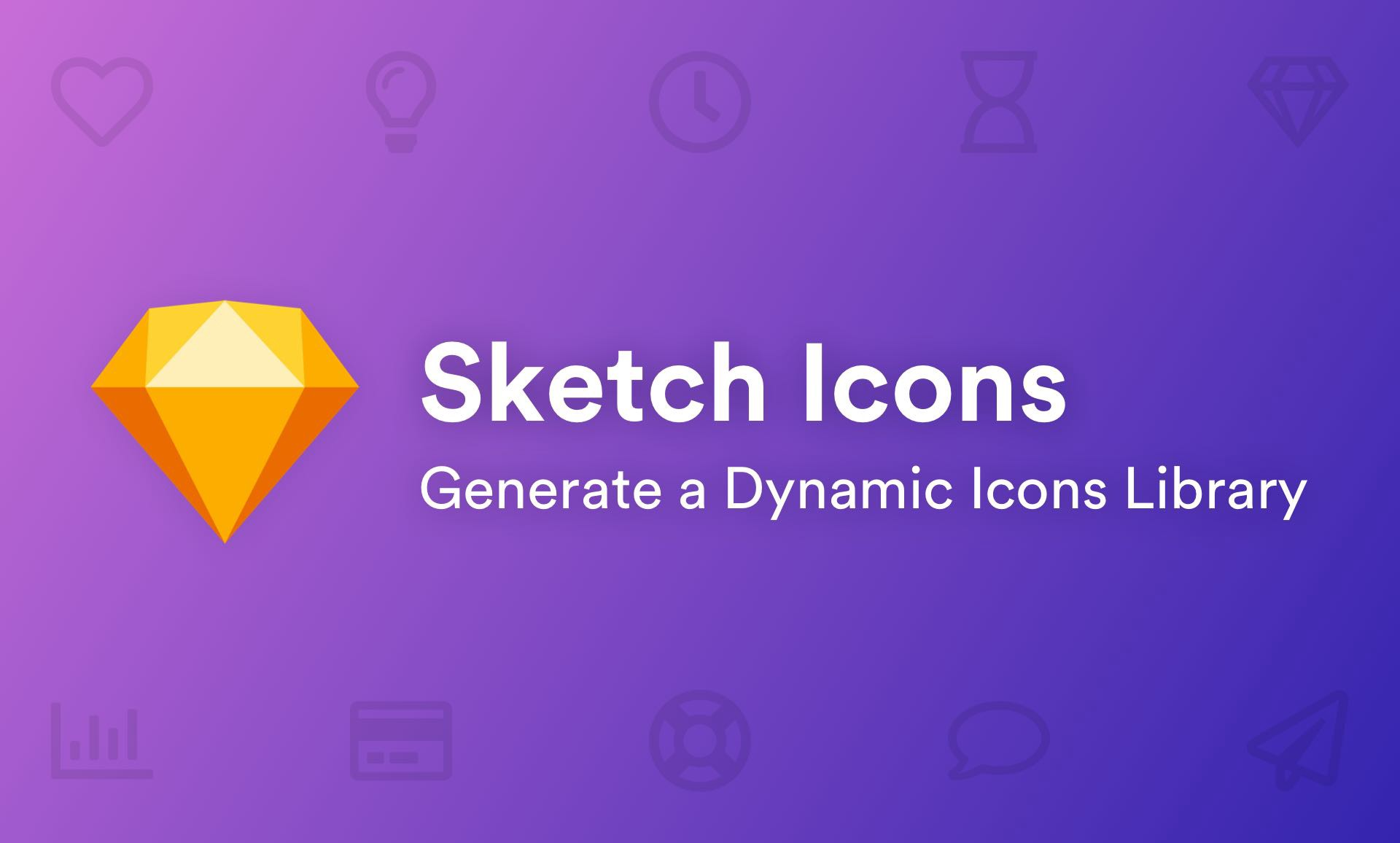 Sketch Icons — Supercharge your workflow